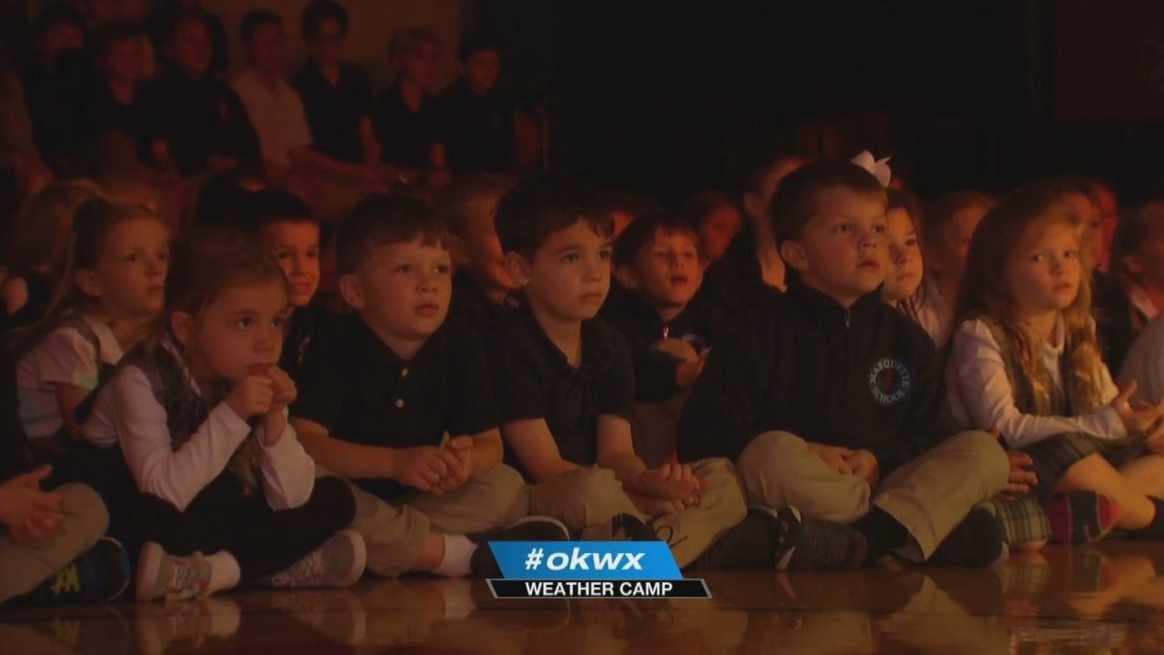 WEB EXTRA: Tulsa Marquette Elementary School Weather Camp