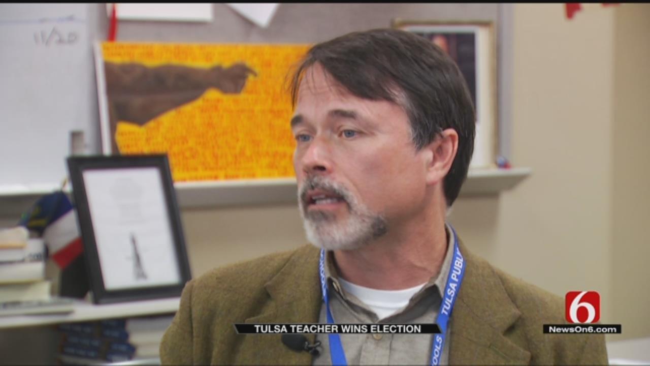 Tulsa Teacher To Be Sworn Into Office Thursday