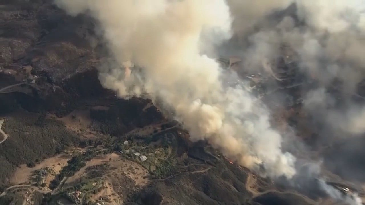 WEB EXTRA: Video From California's 'Camp Fire'