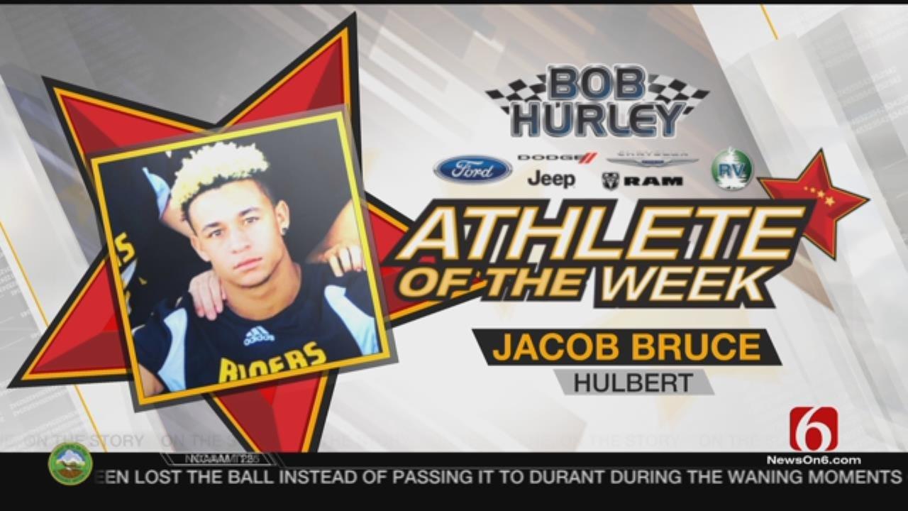 Week 11 Athlete Of The Week: Hulbert's Jacob Bruce