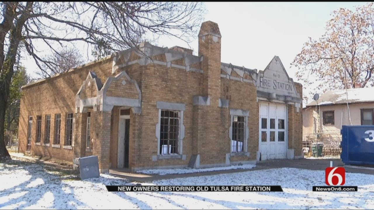 Historic Tulsa Fire Station To Be Renovated