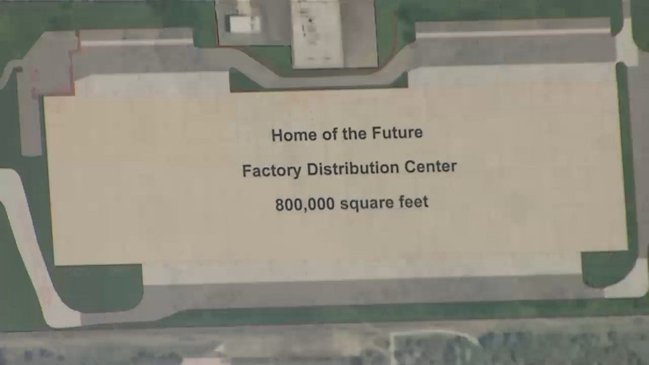 WEB EXTRA: Video From Ground Breaking Ceremony At Tulsa's Whirlpool Facility