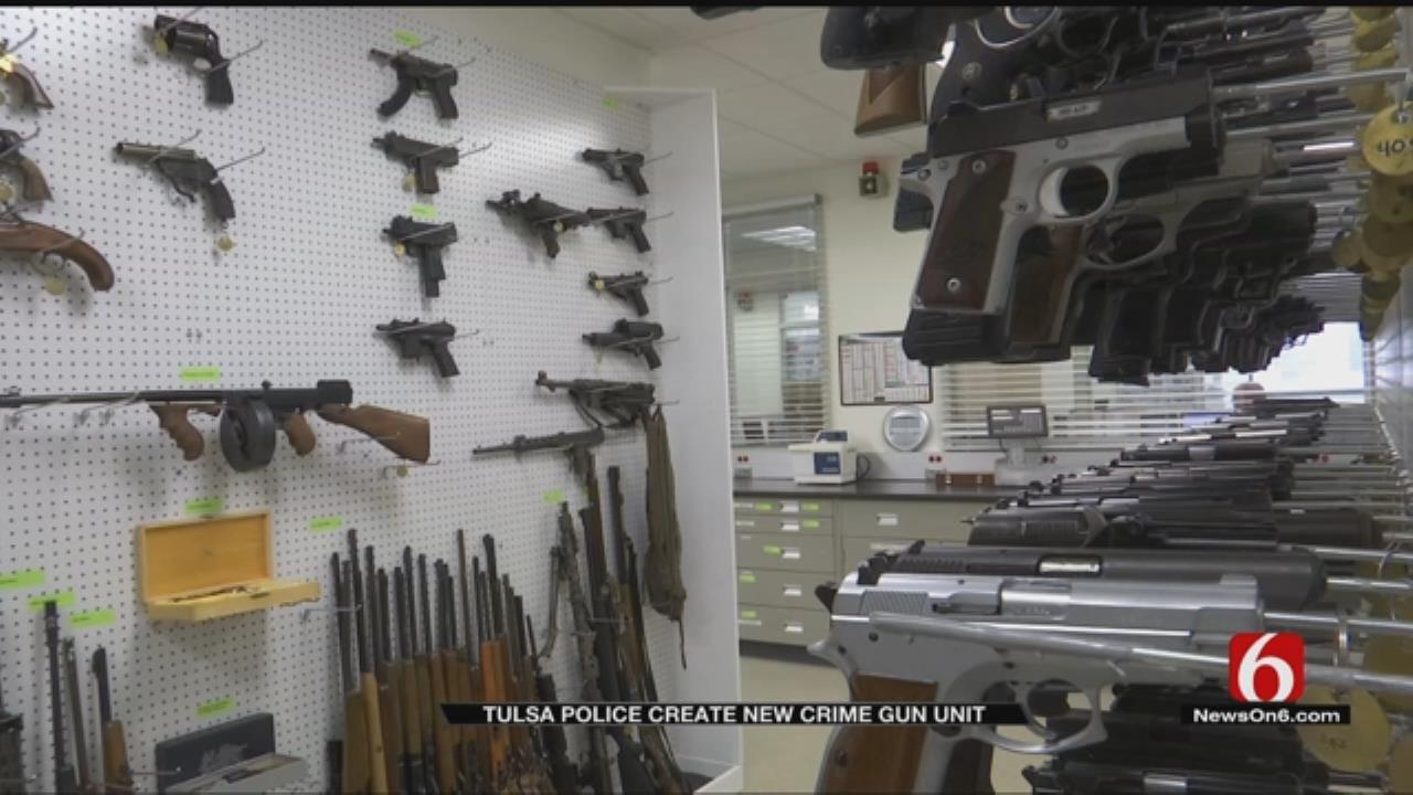 Tulsa Police Create New Unit To Track Illegal Guns
