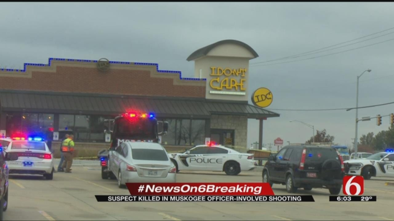 One Man Dead After Muskogee Officer-Involved Shooting