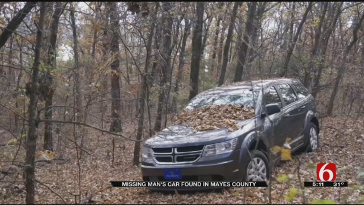 Missing McLoud Man's Vehicle Found In Mayes County