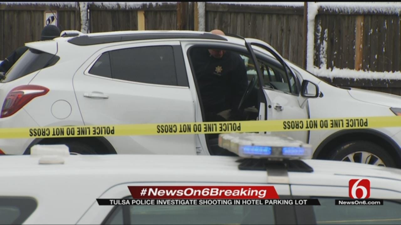 Tulsa Man Sent To Hospital After Shooting