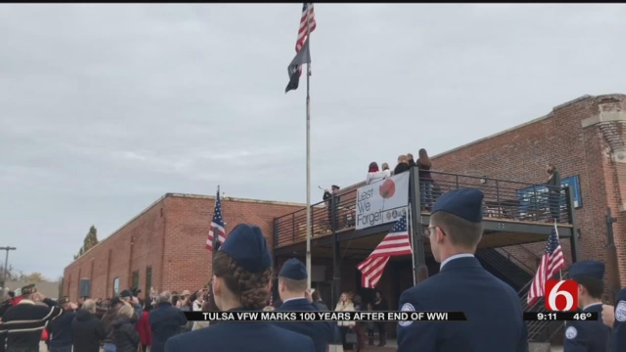 Tulsa VFW Marks 100 Years Since The End Of WWI With Ceremony