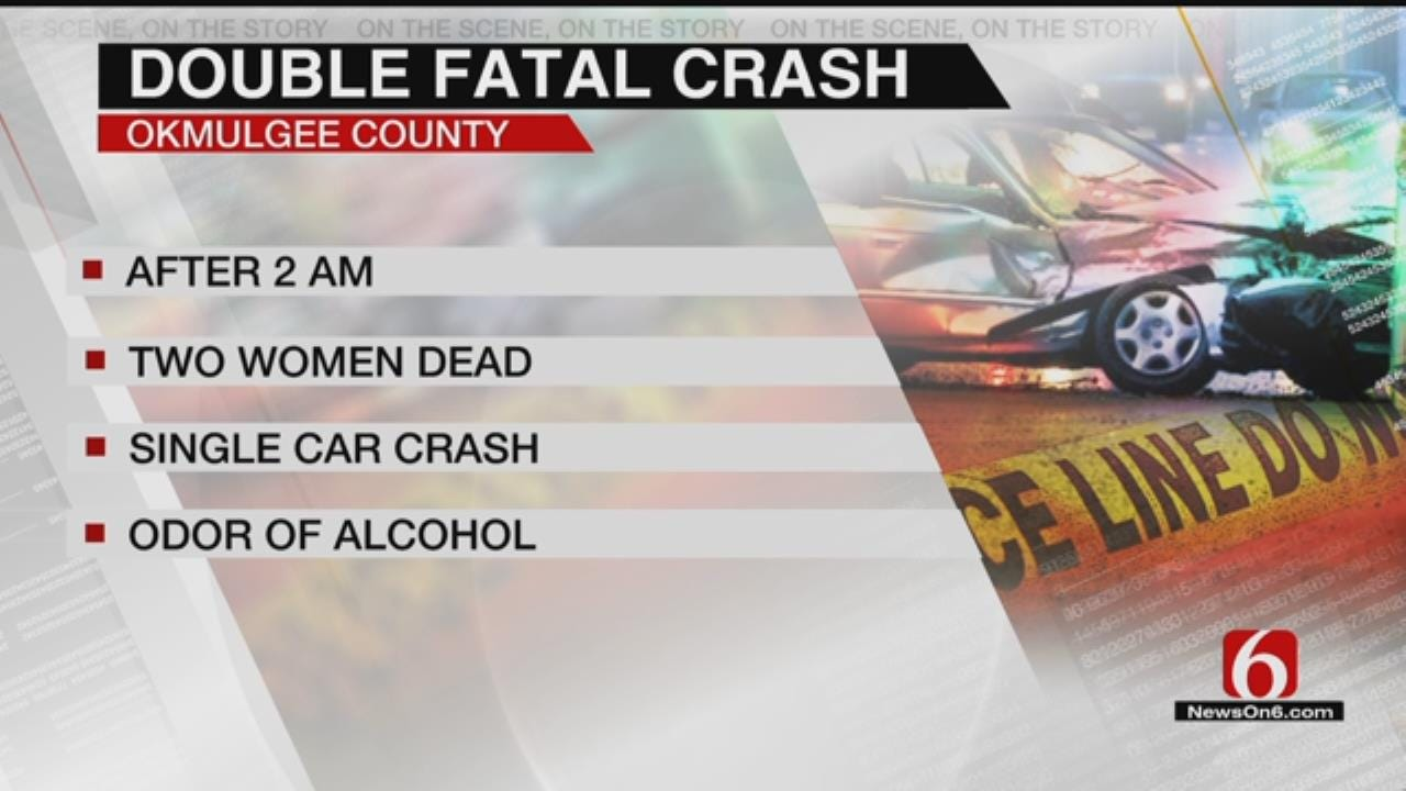 OHP: Two Dead In Okmulgee County Wreck