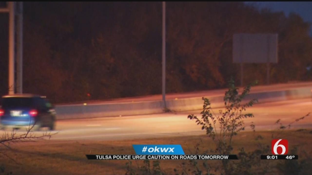 Tulsa Police And City Crews Prepare For Freezing Temperatures