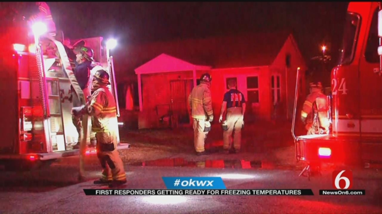 Tulsa Firefighters Preparing For Fire Risks During Colder Months