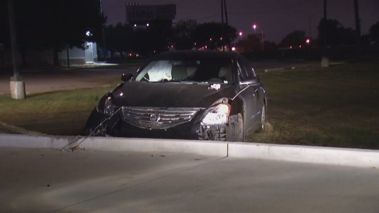 WEB EXTRA: Video From End Of Tulsa Stolen Car Chase