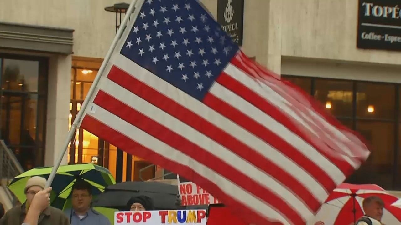 WEB EXTRA: Video From Tulsa Rally To Protect Robert Mueller