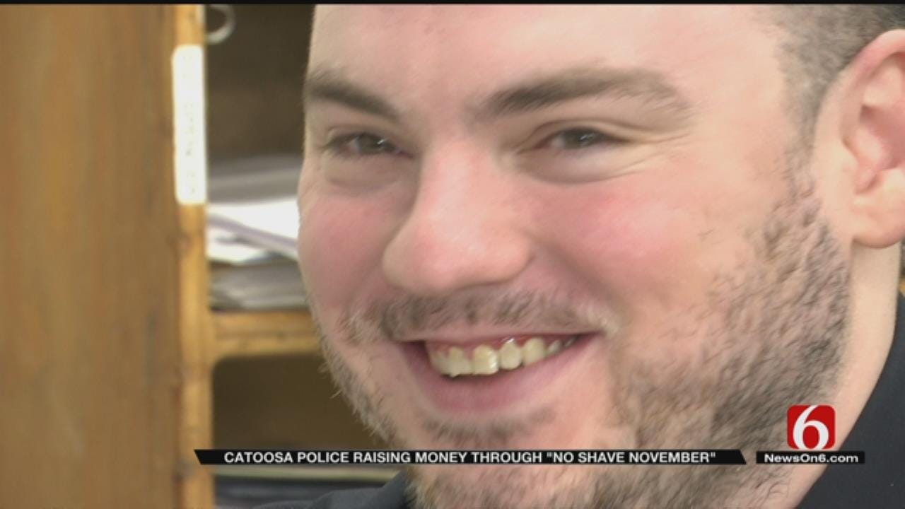 Catoosa Police Department Growing Beards For A Cause