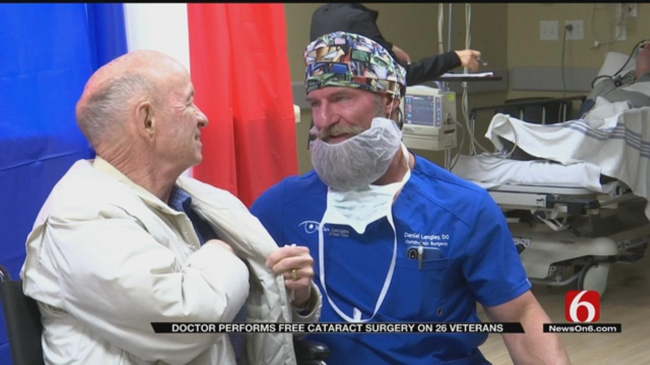 Tulsa Doctor Gives 26 Veterans Free Cataract Surgery