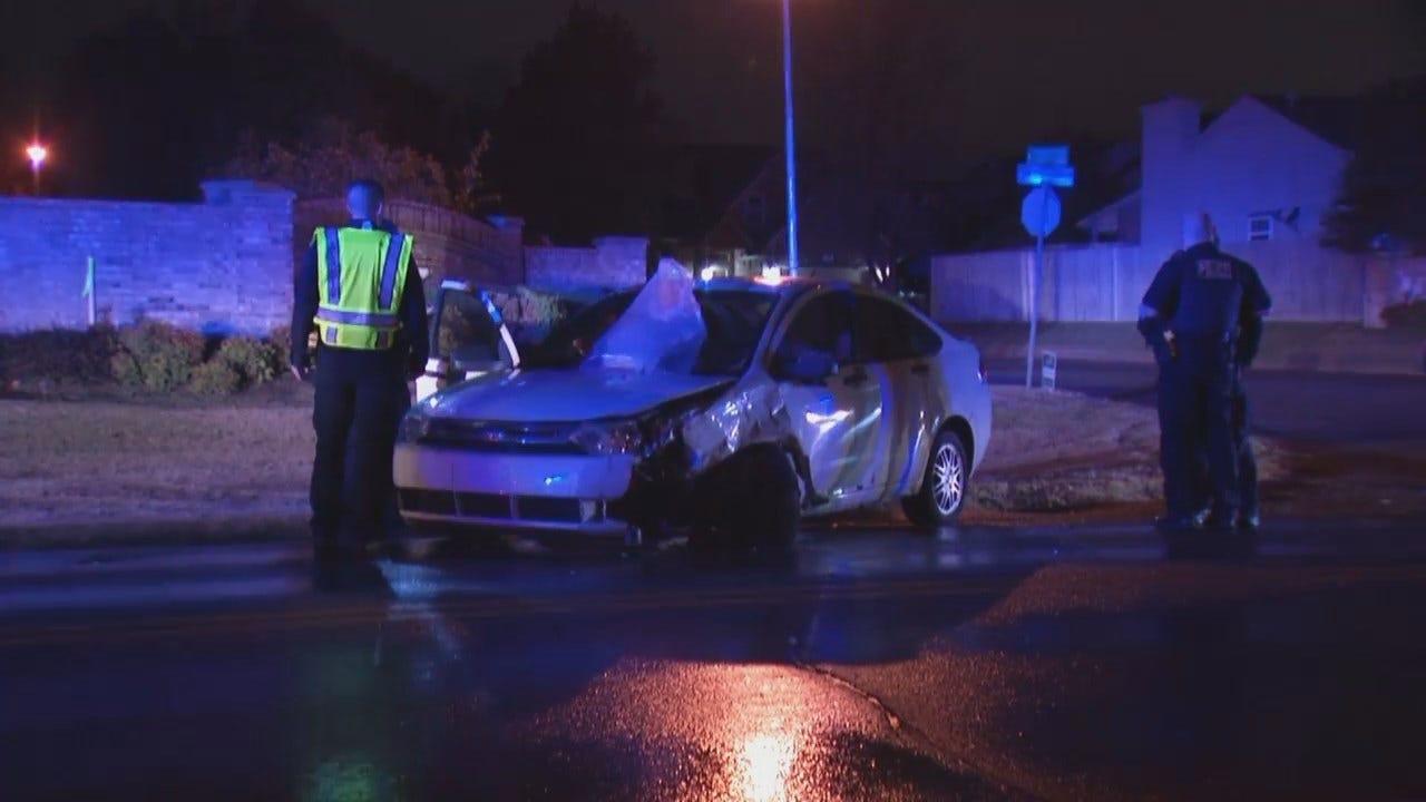 WEB EXTRA: Video From Scene Of Tulsa Crash On South Mingo