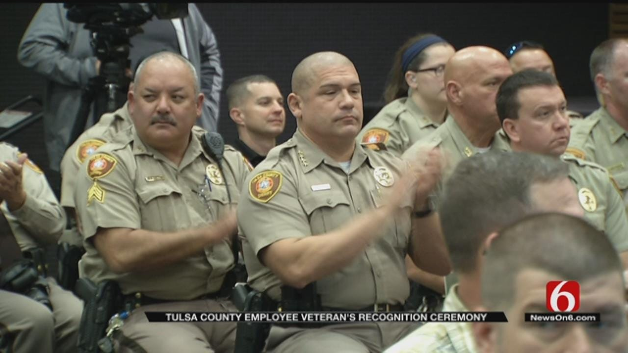 Tulsa County Recognizes Veterans Employed By The County