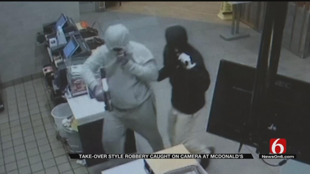 Tulsa Police Searching For People Committing 'Takeover-Style' Robberies