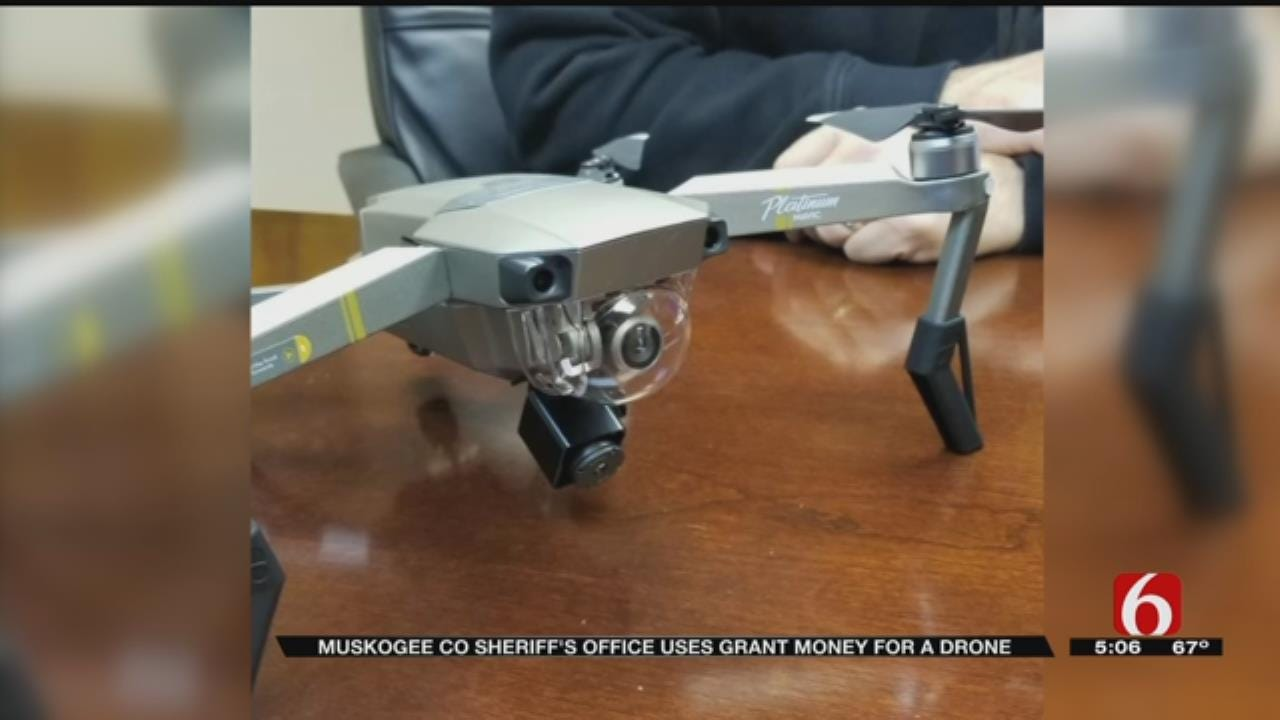 Muskogee County Sheriff's Office Gets New Drone