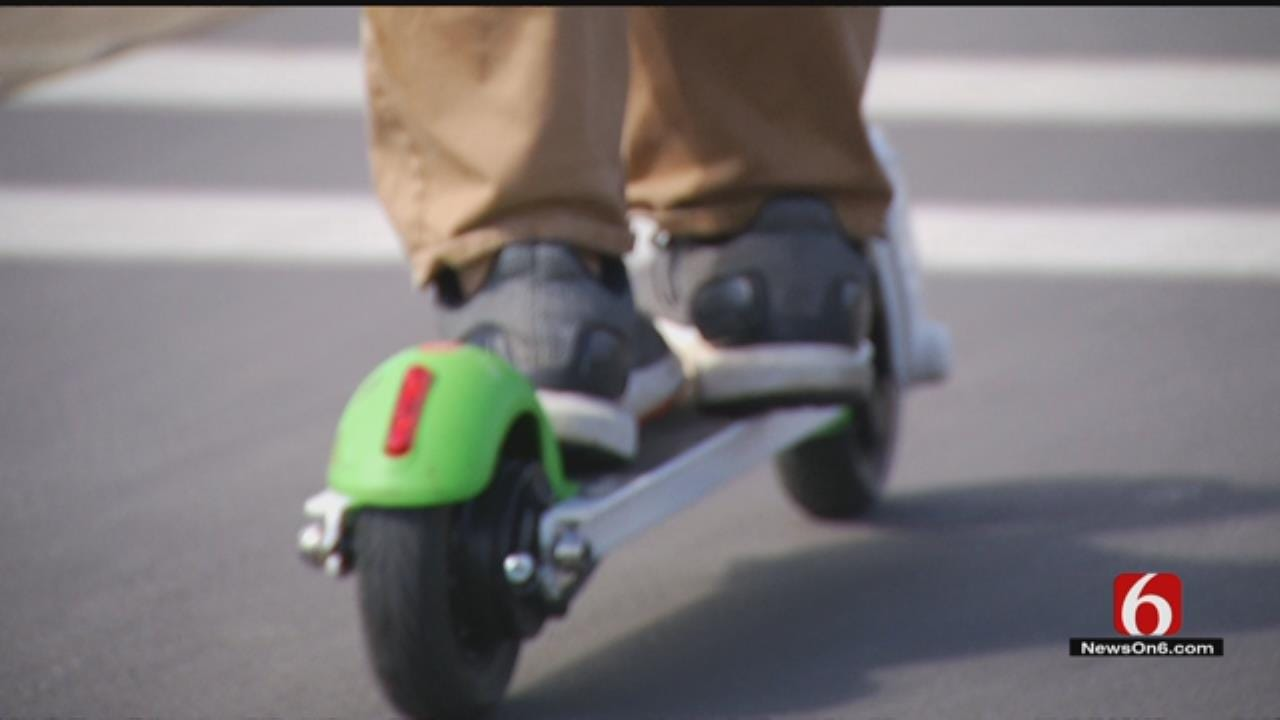 Safety Concerns As More Scooters Hit The Roads Around Tulsa