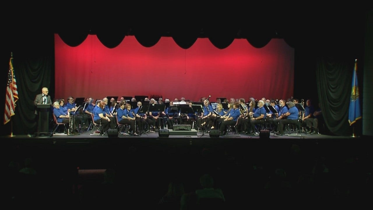 WEB EXTRA: Veterans Honored With Broken Arrow Musical Concert