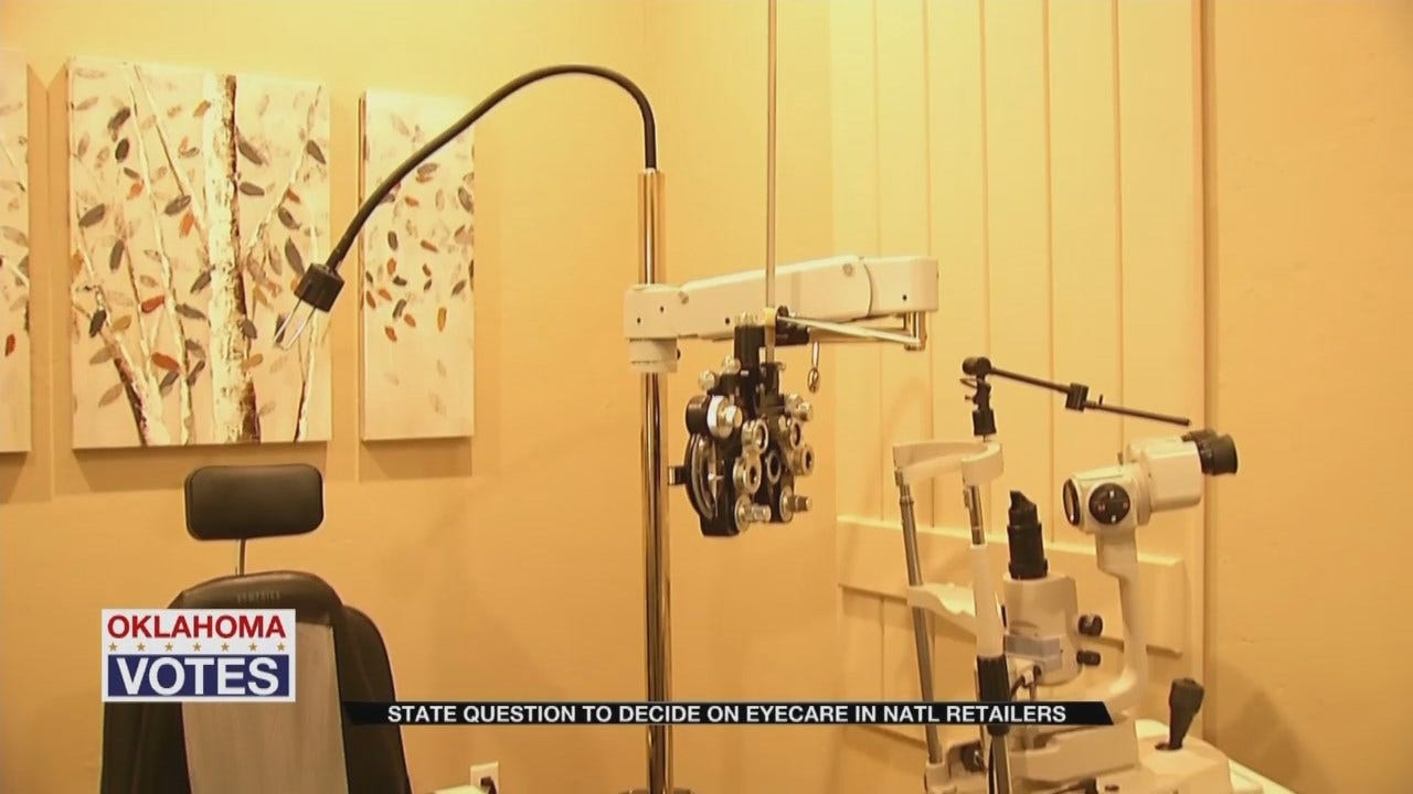 State Question Could Change How Oklahomans Get Eye Care