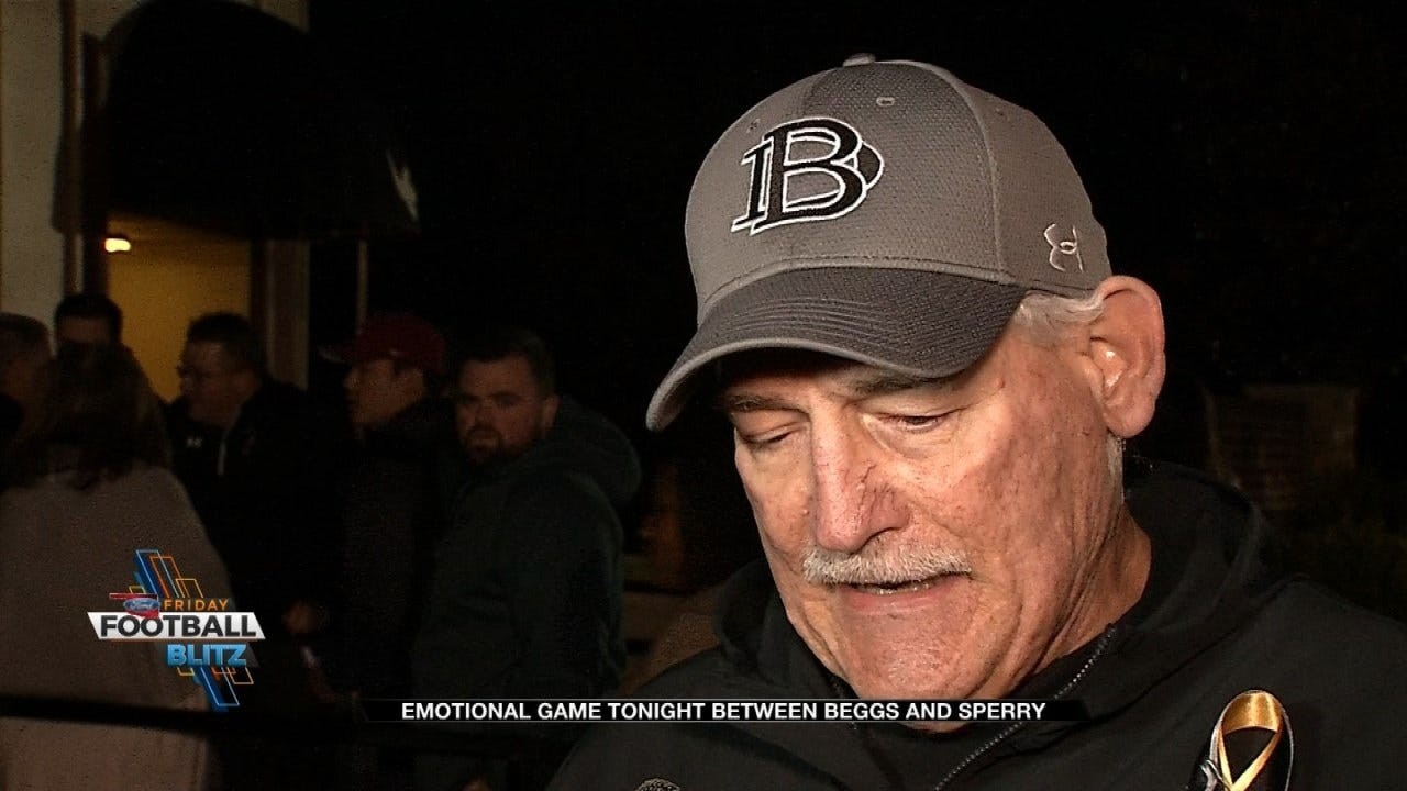 Beggs Faces Sperry In Emotional Game
