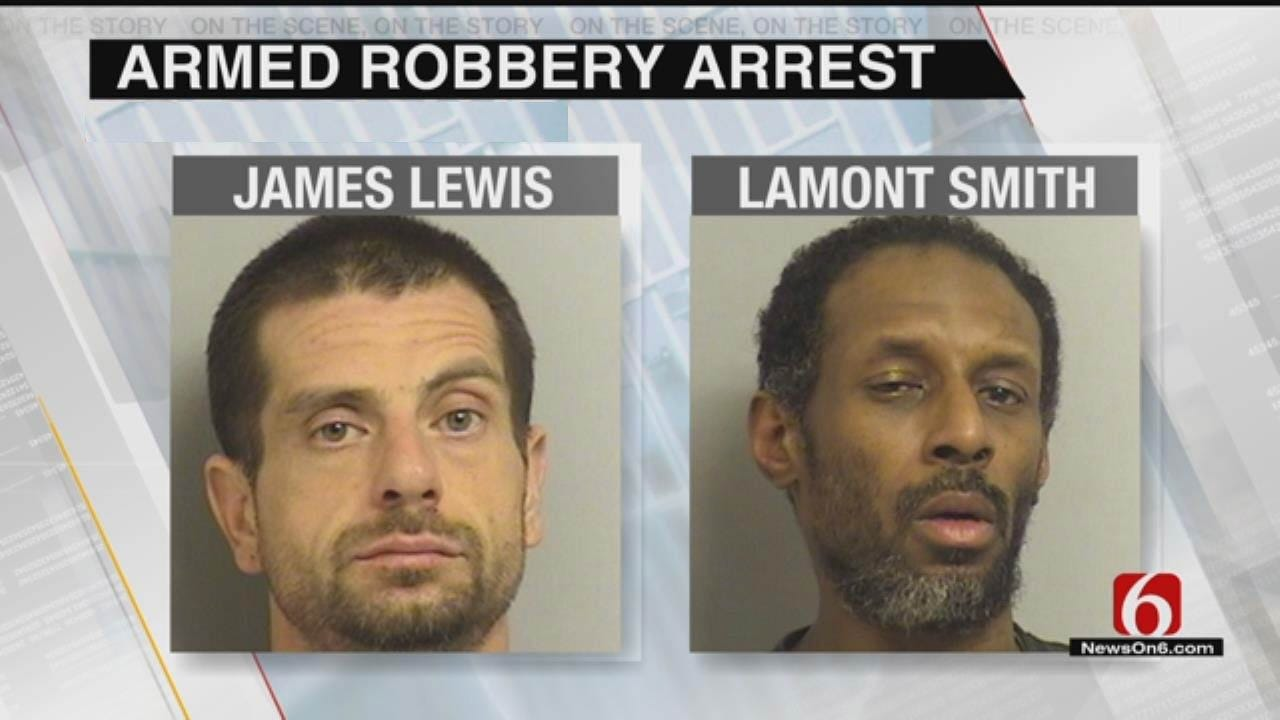 Two Arrested In Tulsa Motel Robbery