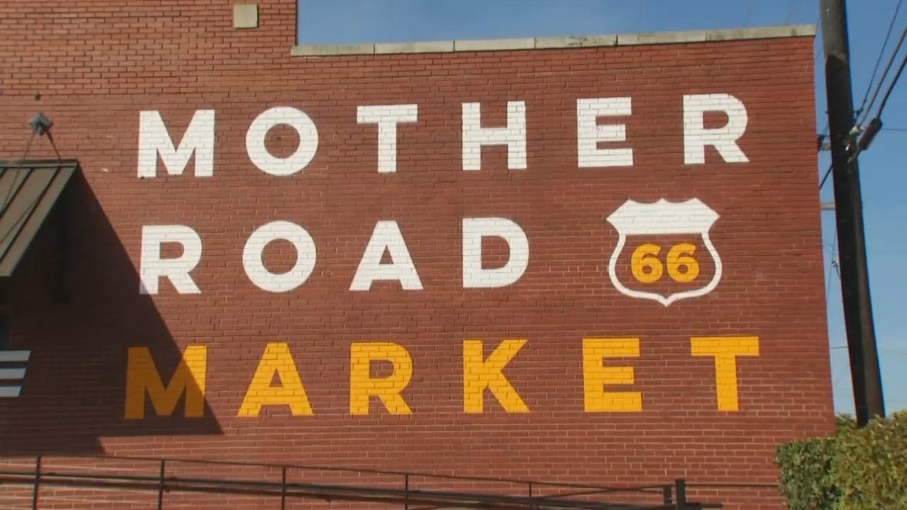 WEB EXTRA: Video From Tulsa's Mother Road Market