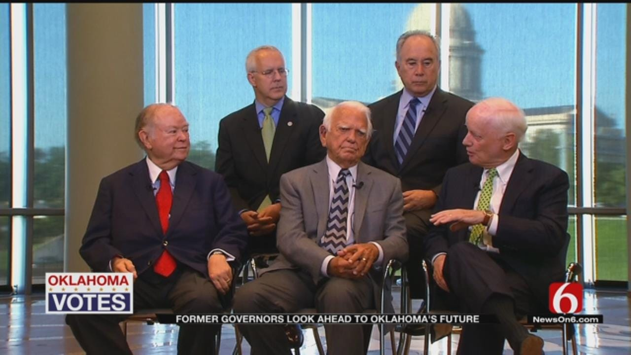 Former Governors Discuss Oklahoma's Future