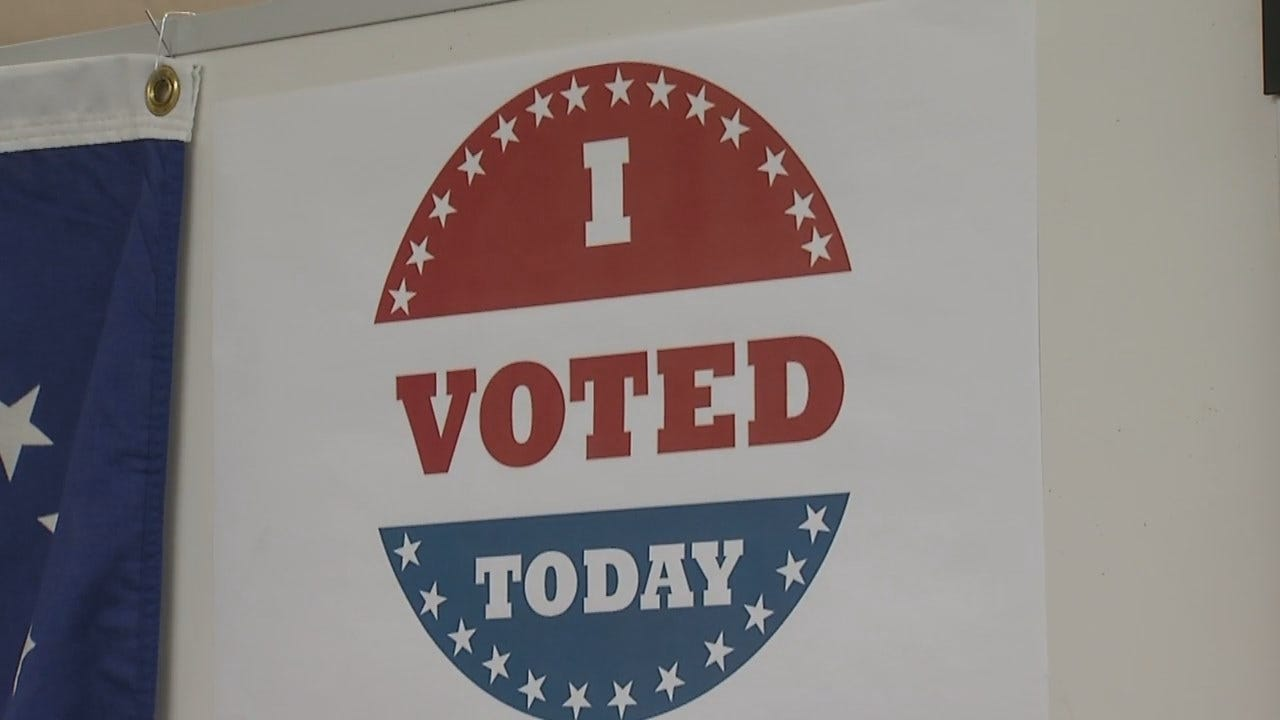 WEB EXTRA: Early Voting In Oklahoma Begins Thursday