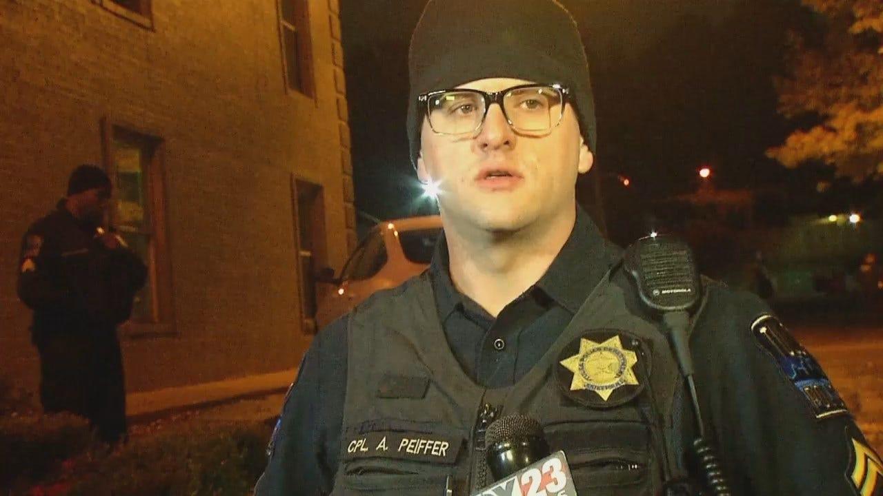 WEB EXTRA: Tulsa Police Cpl. Alex Peiffer Talks About Shooting