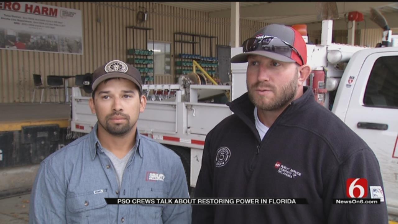 PSO Crews Return From Hurricane Michael Relief Effort