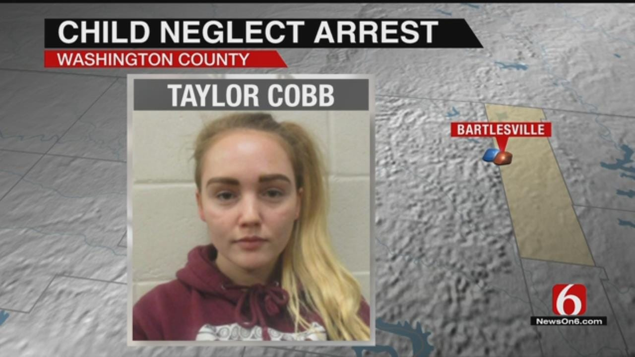 Snapchat Video Leads To Arrest Of Bartlesville Woman For Child Neglect