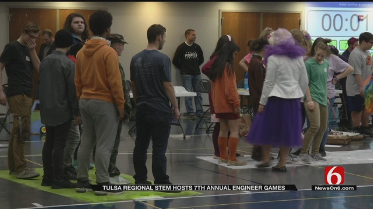Green Country STEM Students Compete In 'Engineer Games'
