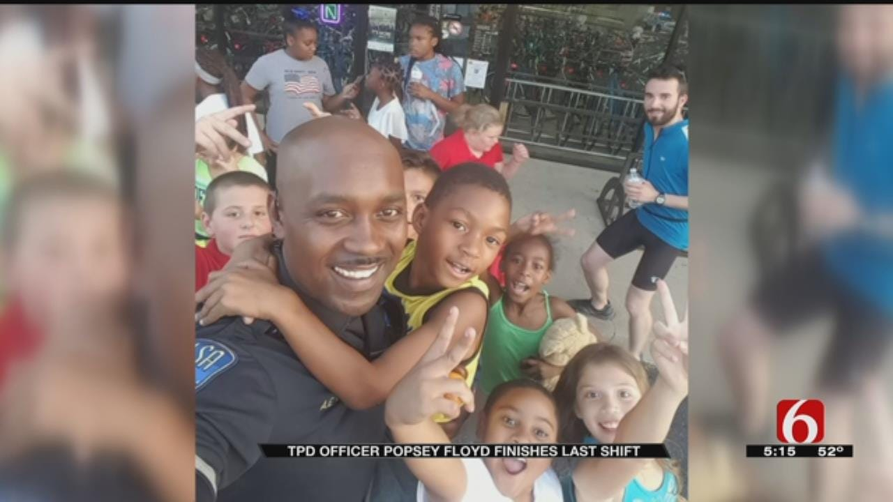 Tulsa Police Officer Makes Lasting Impact On Community