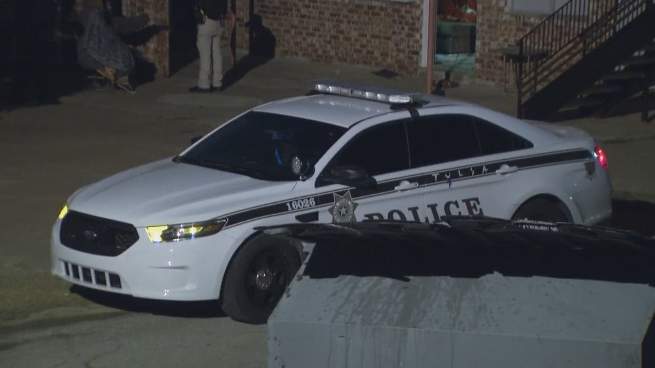 WEB EXTRA: Video From Scene Of Tulsa Apartment Burglary And Shooting