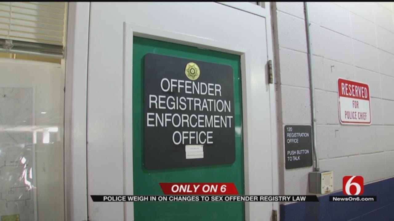 Tulsa Police Concerned About New Sex Offender Laws