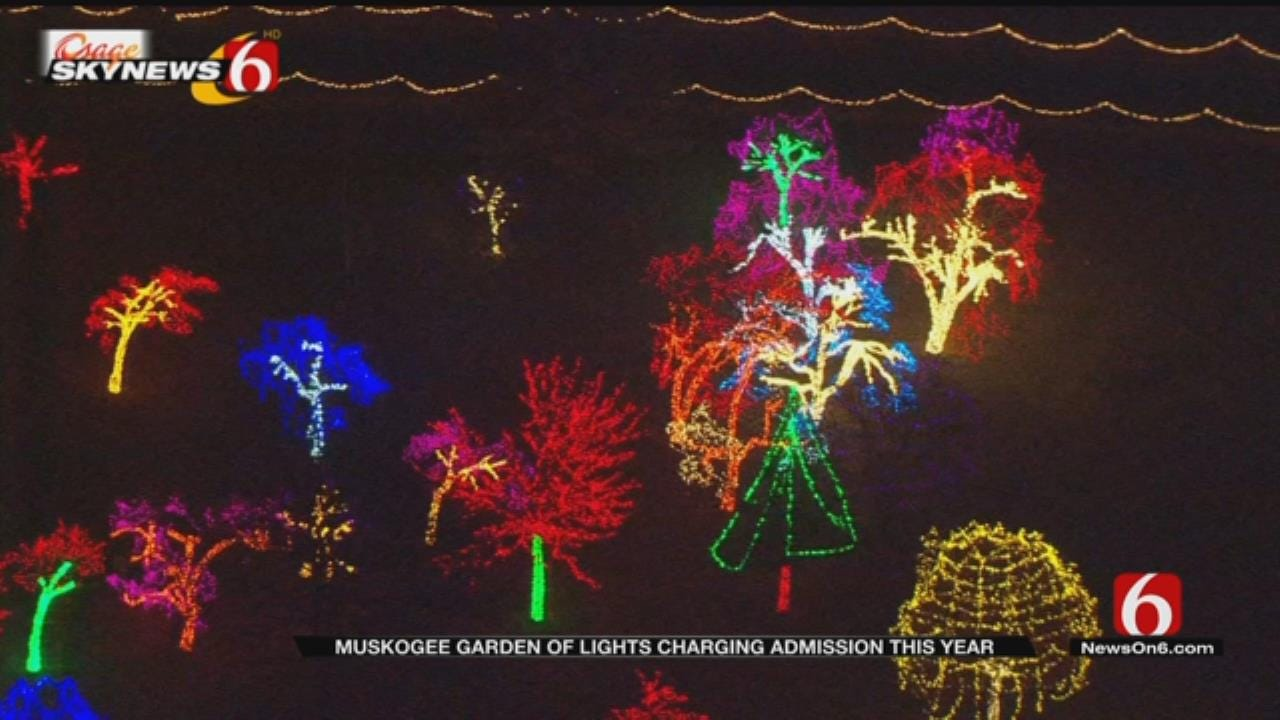 Muskogee's Garden Of Lights Display To Charge Admission This Year