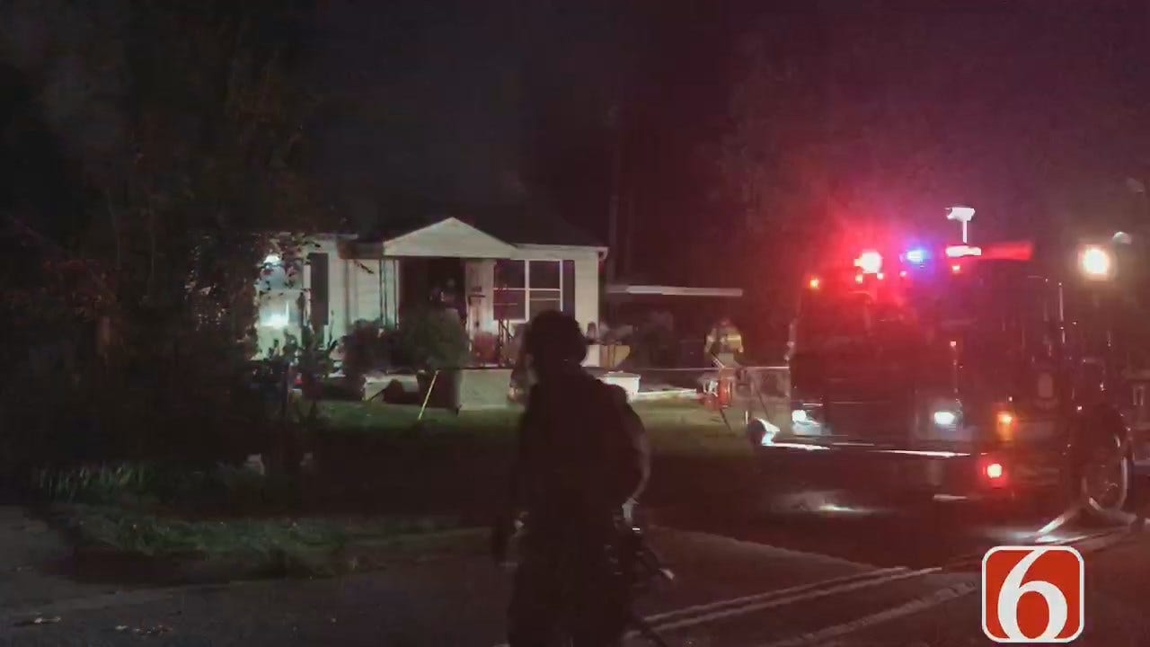 Dave Davis: Three Escape From Tulsa House Fire