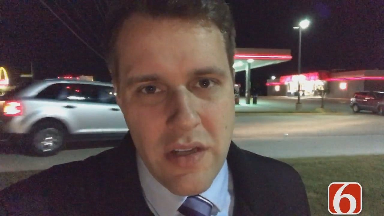 Dave Davis Reports On A Stolen Truck Left Running Outside Tulsa Convenience Store