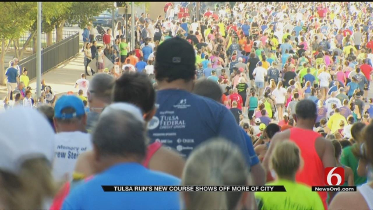 41st Tulsa Run Features New Scenic Course