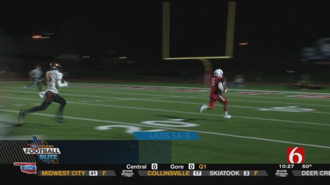 Friday Night Football: Bishop Kelley Defeats Coweta 35-21