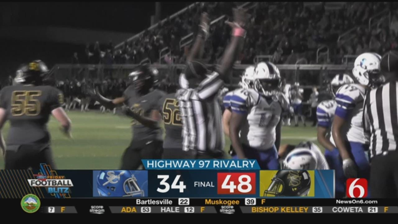 Friday Night Football: Sand Springs Defeats Sapulpa 48-34