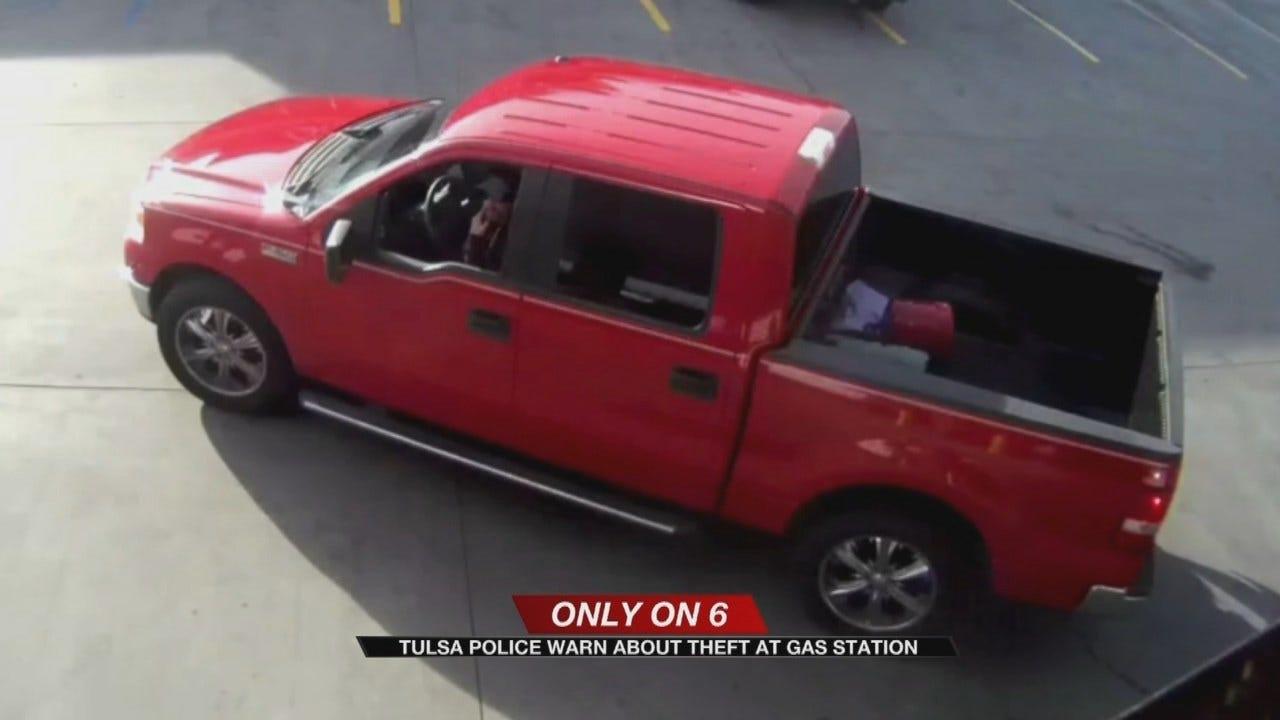 Purse Snatching Suspect Caught On Camera