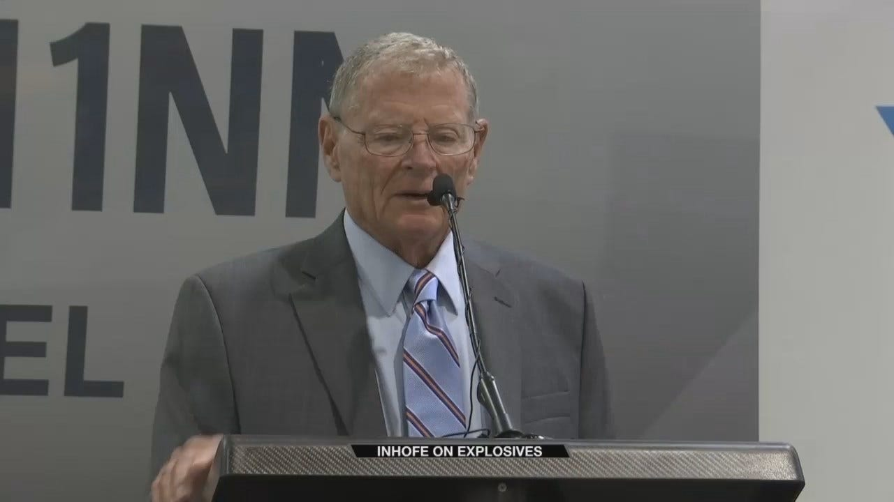 Senator Jim Inhofe Responds To Package Bombs