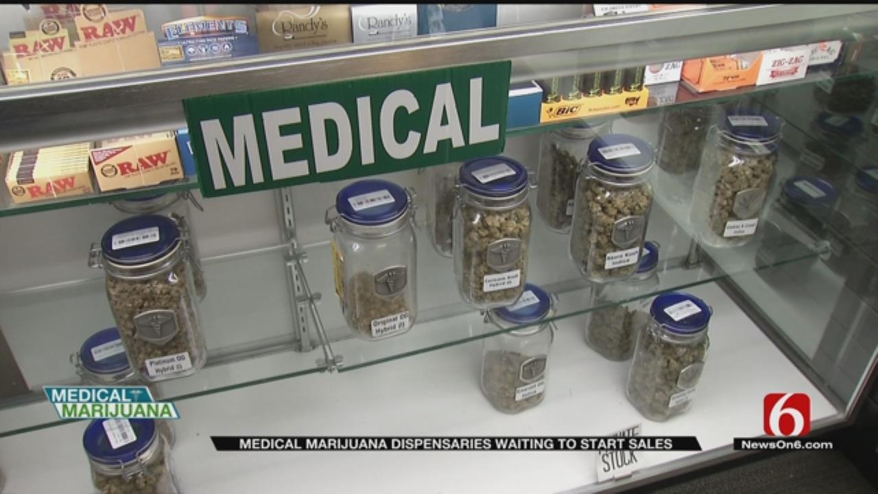 Oklahoma Medical Marijuana Dispensaries Wait To Sell Products