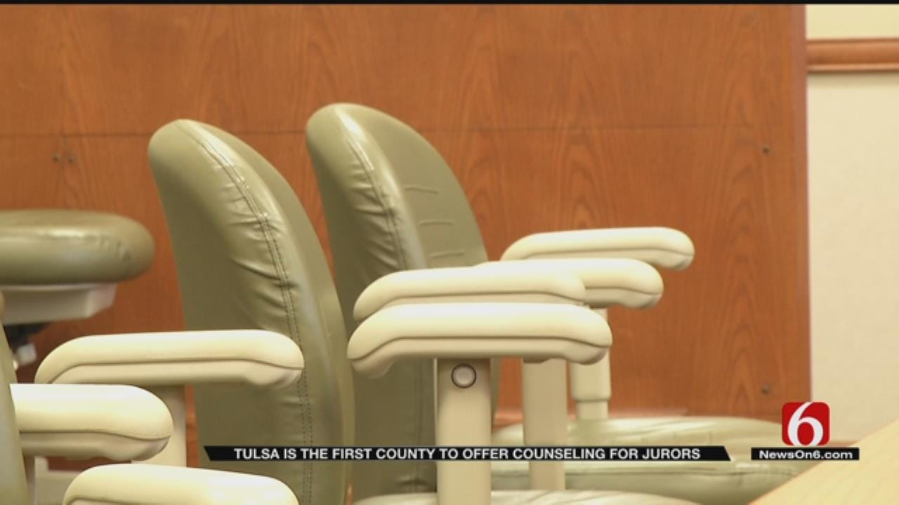 Tulsa County Jurors To Receive Free Grief Counseling