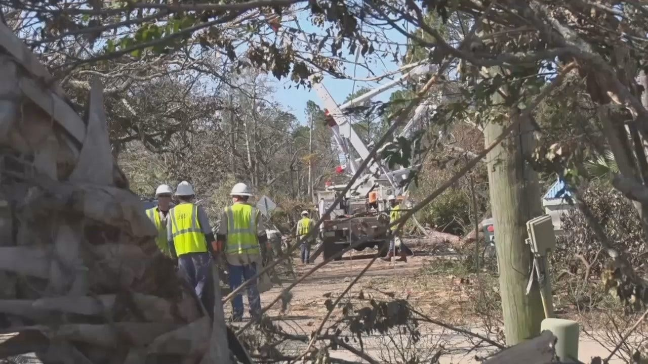 WEB EXTRA: Video Of PSO Crews Working In Florida