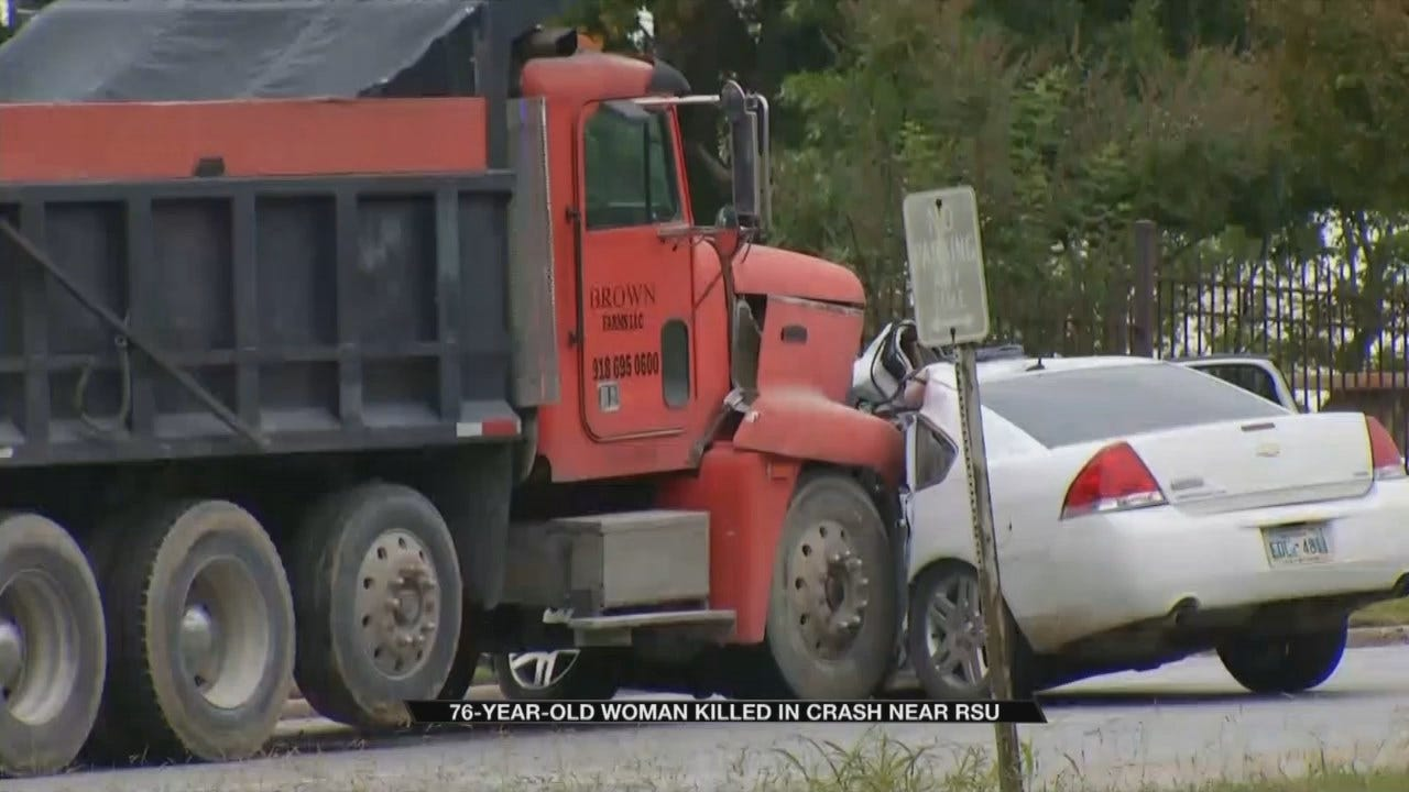 76-Year-Old Woman Dies In Wreck Near RSU In Claremore