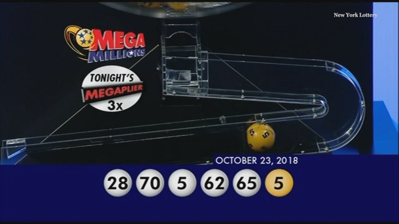 WEB EXTRA: Mega Millions Drawing